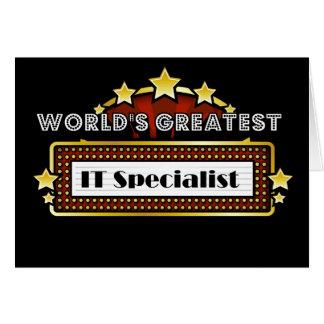 Cartão Mundo grande ELE especialista