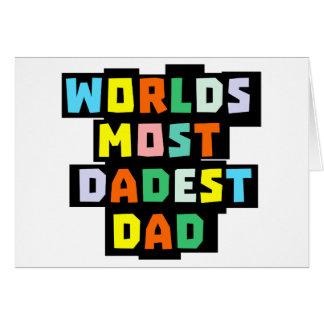 Cartão Mundos a maioria de pai de Dadest