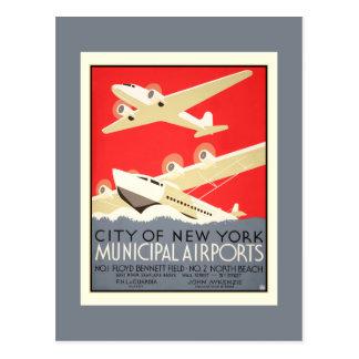Cartão municipal dos aeroportos de NYC