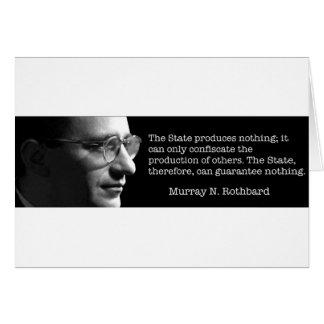 Cartão Murray Rothbard