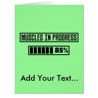 Cartão Músculos no exercício Zpf7n de Progess