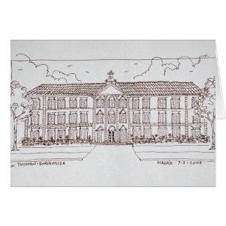 Cartão Museo Thyssen-Bornemisza | Madrid, espanha