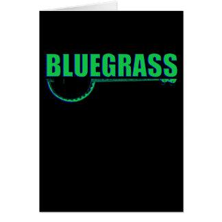 Cartão Música de Bluegrass