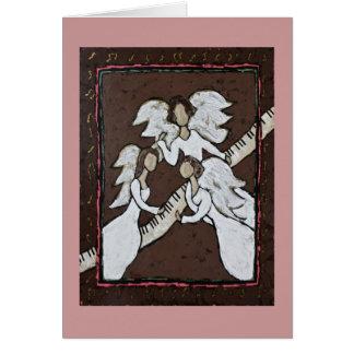 cartão musical do trio do anjo