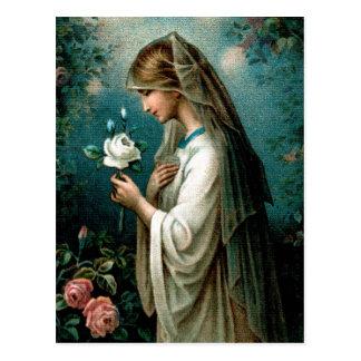 Cartão: Mystical aumentou Cartão Postal