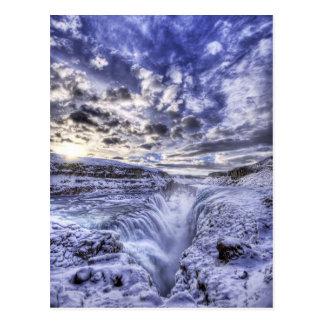 Cartão Mystical do gelo