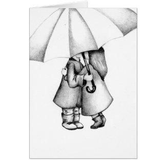 Cartão Na chuva