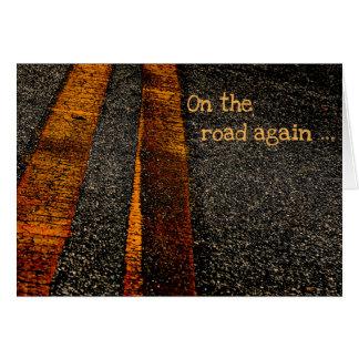 Cartão Na estrada