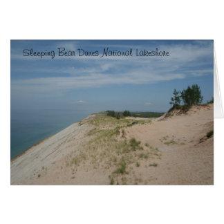 Cartão Nacional de sono Lakeshore Notecard das dunas do
