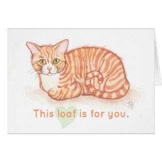 Cartão Naco do gatinho - este naco é para você