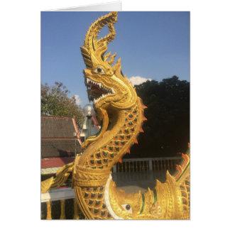 Cartão Naga em Chiang Mai, Tailândia