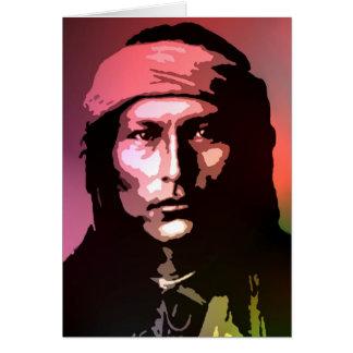 Cartão Naichez - Chiricahua apache