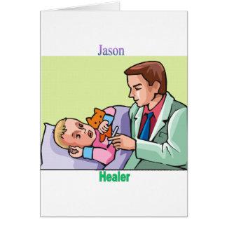 Cartão Names&Meanings - Jason