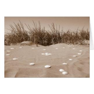 Cartão Namorados da praia