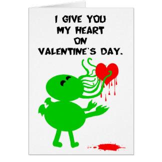 Cartão Namorados de Cthulhu