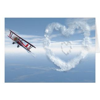 Cartão Namorados de Skywriter