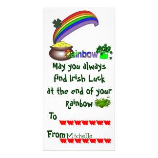 Cartão Namorados do irlandês da sala de aula