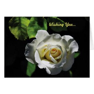 Cartão Namorados do rosa branco