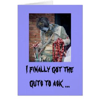 Cartão Namorados do zombi