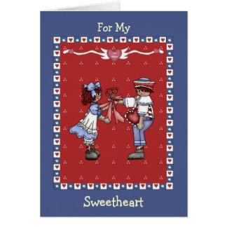 Cartão Namorados dos queridos
