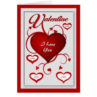 Cartão Namorados - eu te amo