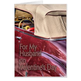 Cartão Namorados para o marido