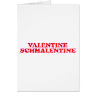 Cartão Namorados Schmalentine