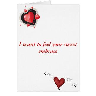Cartão Namorados torcidos