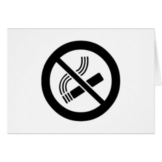 Cartão Não fumadores