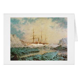 """Cartão nas águas do Alasca """"do urso"""" de Paul"""