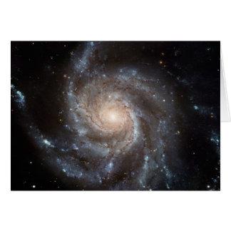 Cartão NASA: A galáxia do Pinwheel