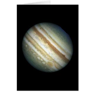 Cartão NASA - Uma tempestade de Jupiter