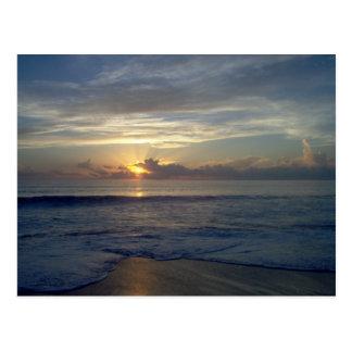 Cartão - nascer do sol