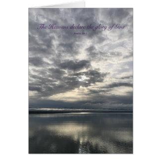 Cartão Nascer do sol de Alaska