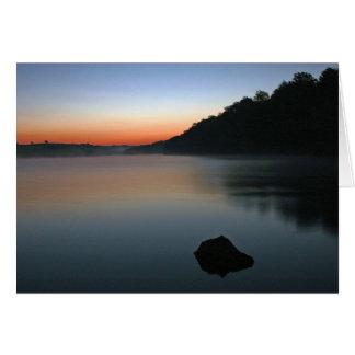 Cartão Nascer do sol de Tablerock