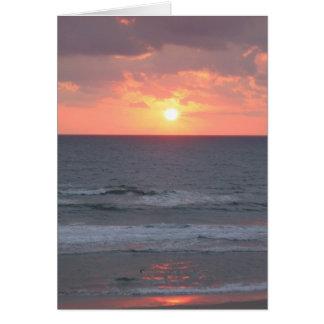 Cartão Nascer do sol em Florida
