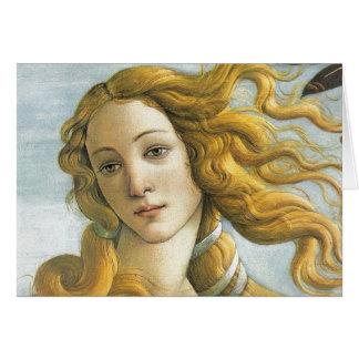 Cartão Nascimento de Venus
