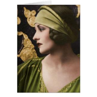 Cartão Natacha Rambova 1897-1966