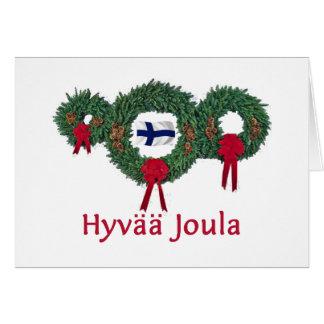 Cartão Natal 2 de Finlandia