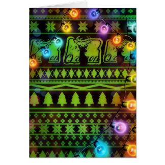 Cartão Natal alegre de Oregon
