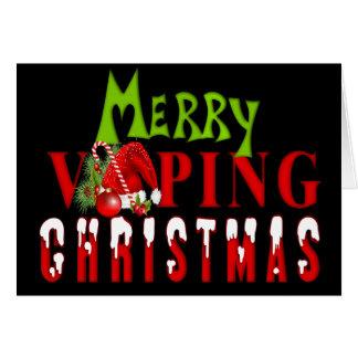 Cartão Natal alegre de VAPE | Vaping