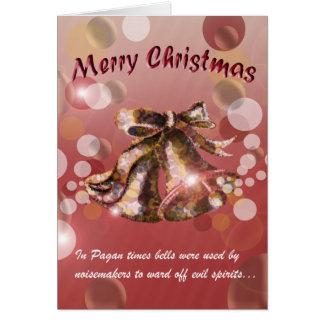 Cartão Natal Bell (vermelha)