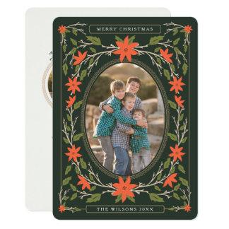 Cartão Natal da foto do livro de histórias 2