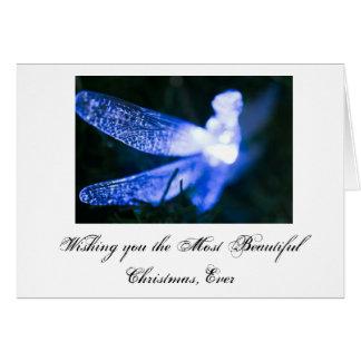 Cartão Natal da libélula…