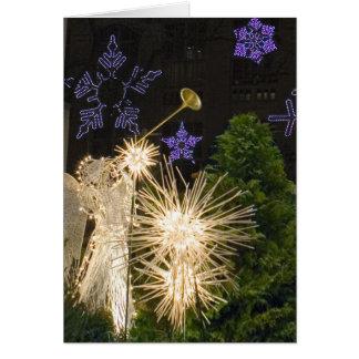 Cartão Natal da Nova Iorque