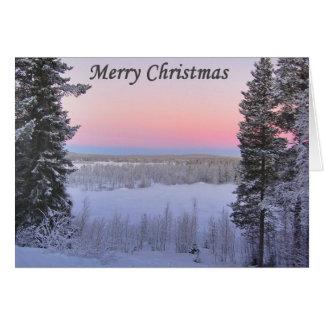 Cartão Natal de Lappish