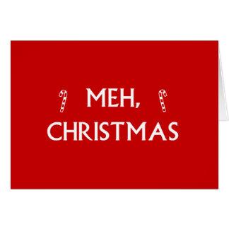 Cartão Natal de Meh