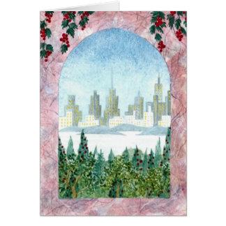 Cartão Natal de New York