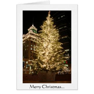 Cartão Natal de Portland