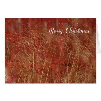 Cartão Natal de RedBarn